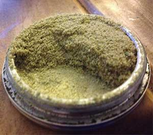 Kief grinders are the best
