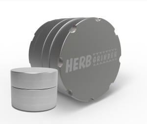 herb grinder original gray